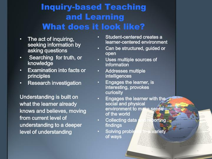 Inquiry-based Teaching