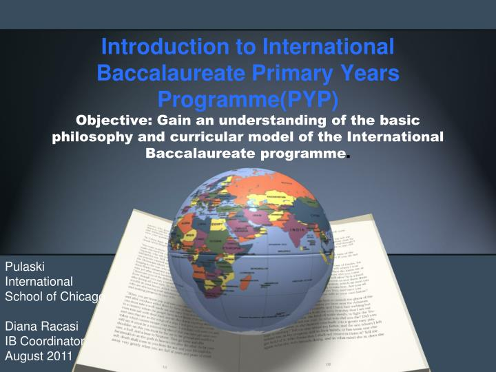 Introduction to International