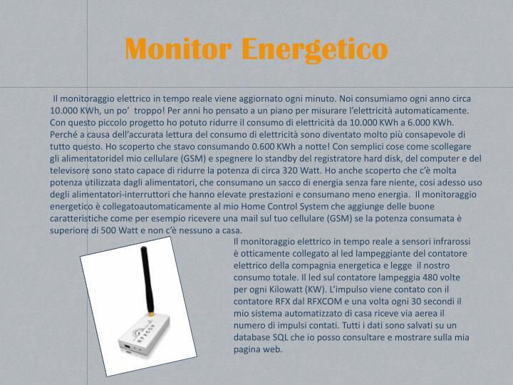 Monitor Energetico