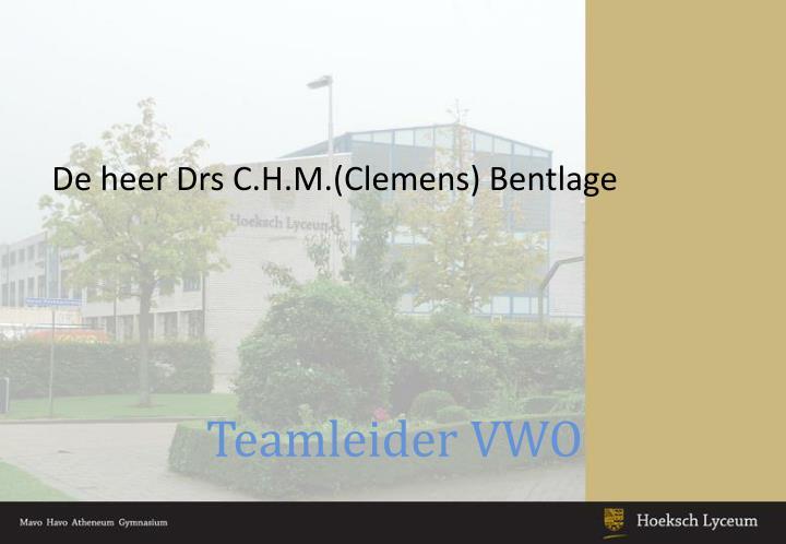 Teamleider VWO