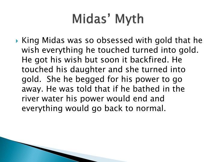 Midas' Myth