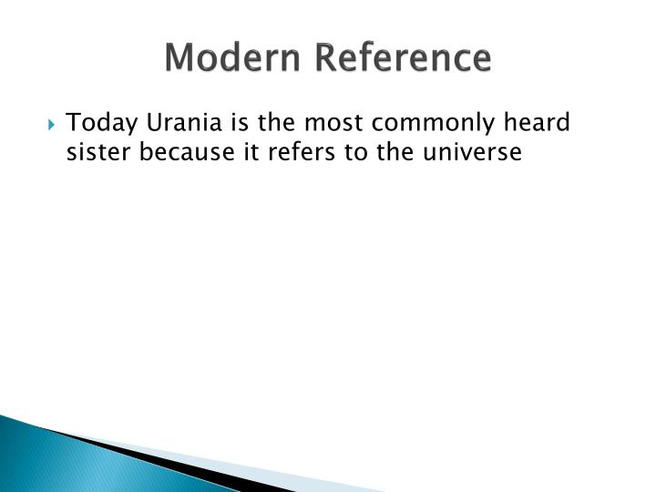 Modern Reference