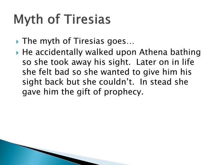 Myth of Tiresias