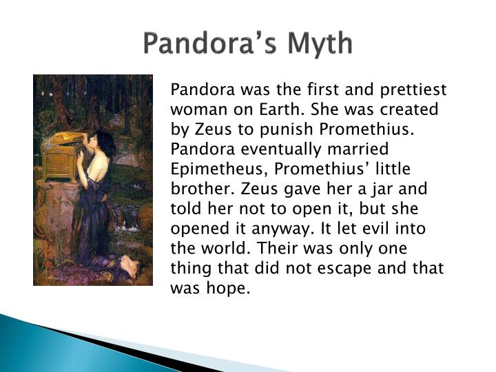 Pandora's Myth