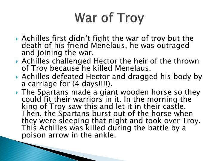 War of Troy