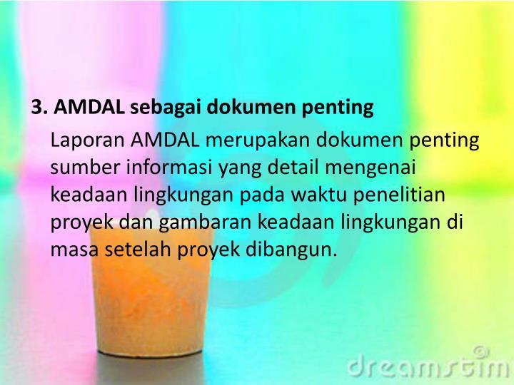 3. AMDAL