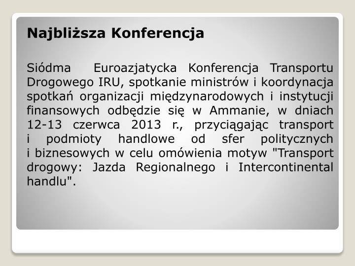 Najbliższa Konferencja
