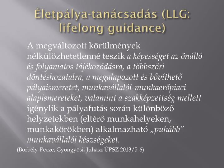 Életpálya-tanácsadás (LLG: