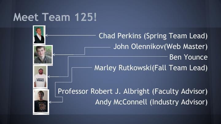 Meet Team 125!