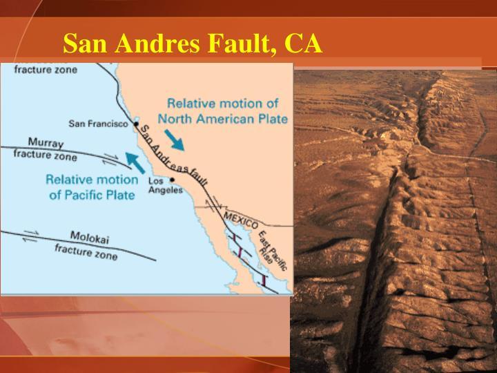 San Andres Fault, CA