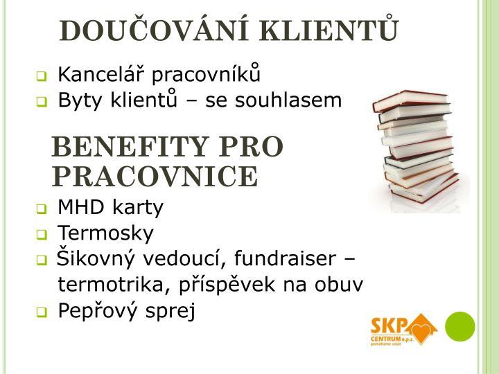Doučování klientů