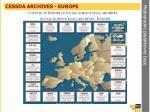 cessda archives europe