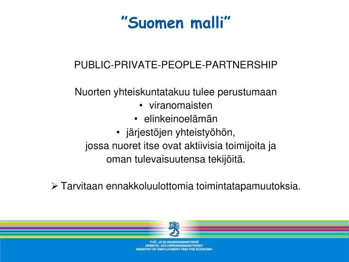 """""""Suomen malli"""""""