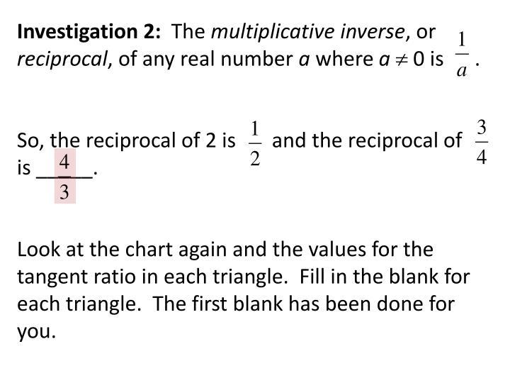 Investigation 2: