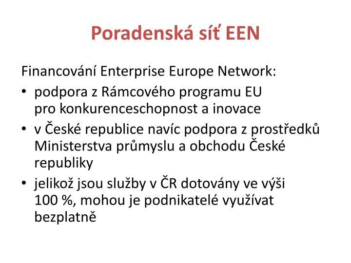 Poradenská síť EEN