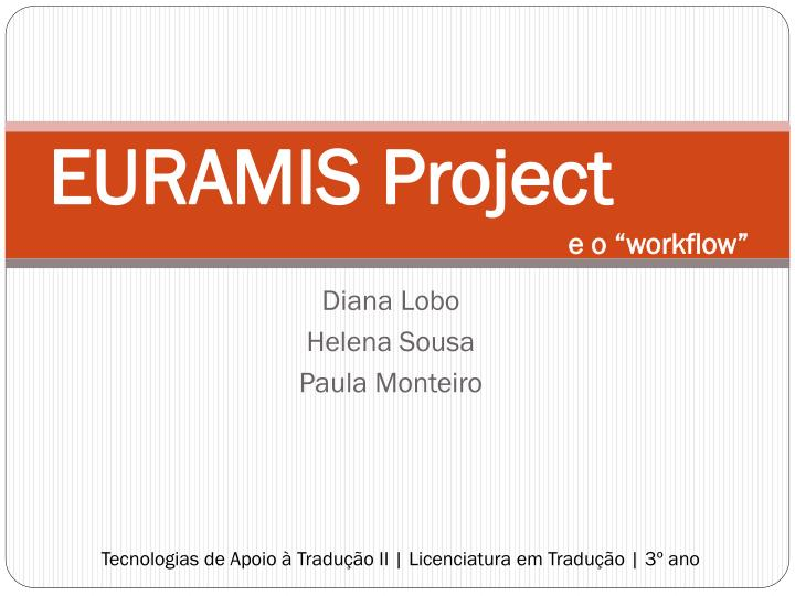 EURAMIS Project