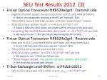 seu test results 2012 2