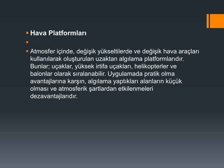 Hava Platformlar