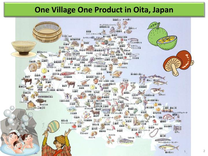 One Village One Product in Oita, Japan