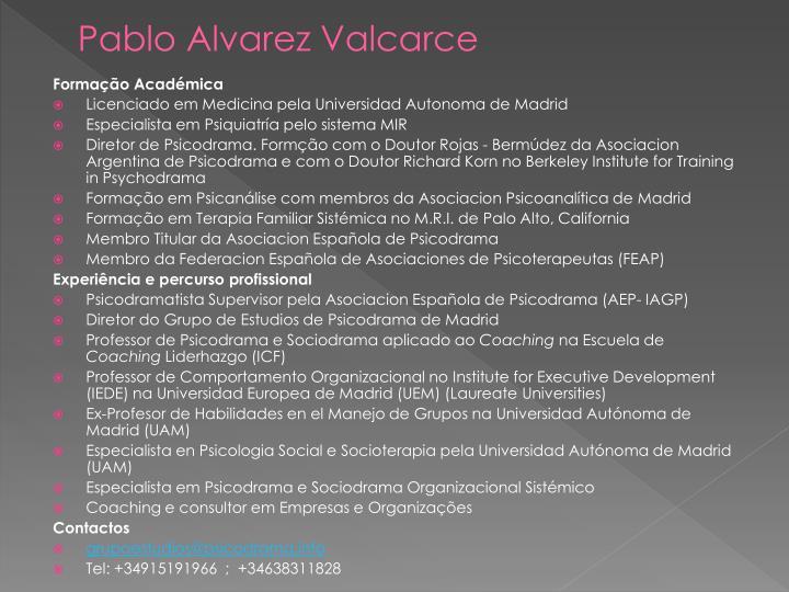 Pablo Alvarez Valcarce