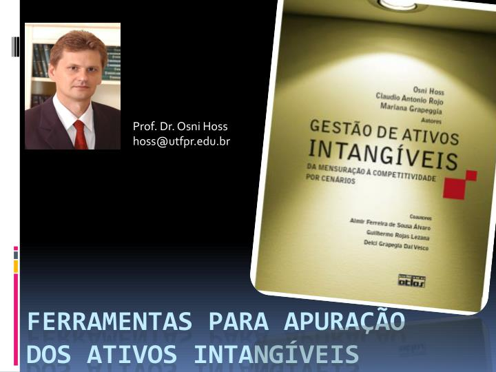 Prof. Dr. Osni Hoss