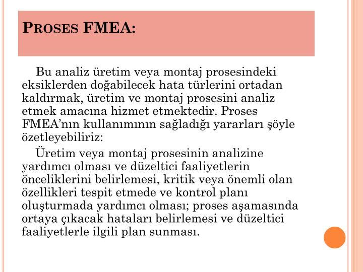 Proses FMEA: