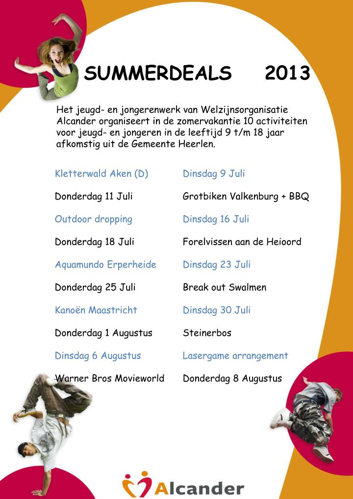 SUMMERDEALS    2013
