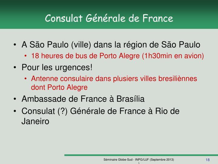 Consulat Générale de France