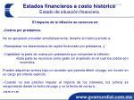 estados financieros a costo hist rico estado de situaci n financiera3
