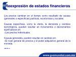 reexpresi n de estados financieros
