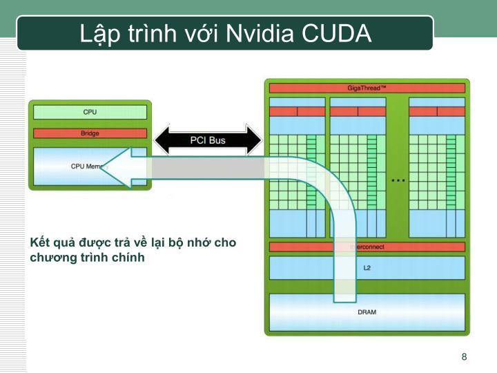 Lập trình với Nvidia CUDA