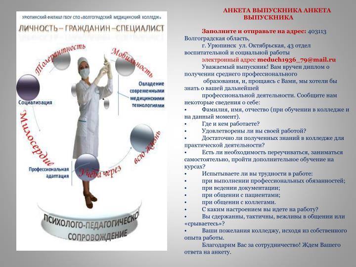 Анкета Выпускные Платья Анкета