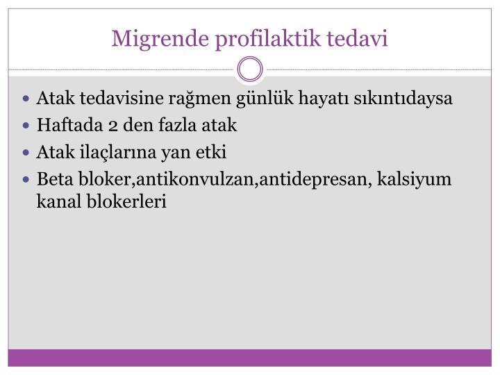Migrende