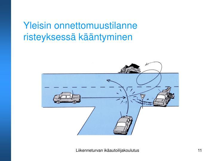 Yleisin onnettomuustilanne