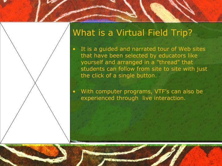 What is a Virtual Field Trip?