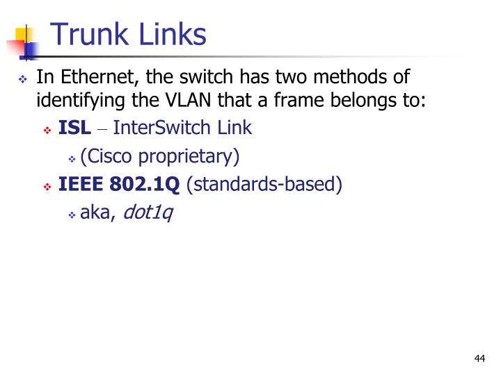 Trunk Links