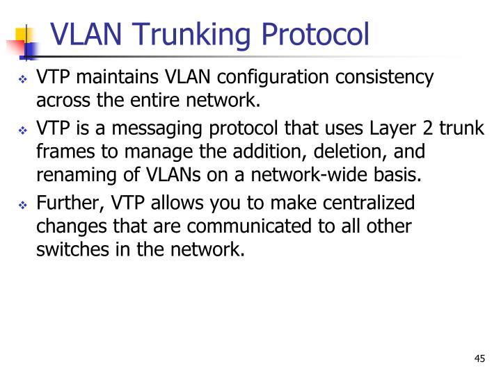 VLAN Trunking Protocol
