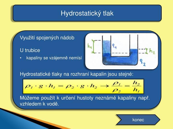 Hydrostatický tlak