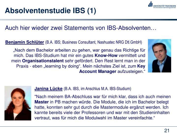 Absolventenstudie IBS (1)