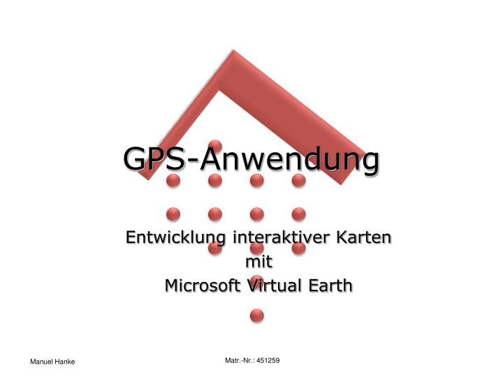 GPS-Anwendung