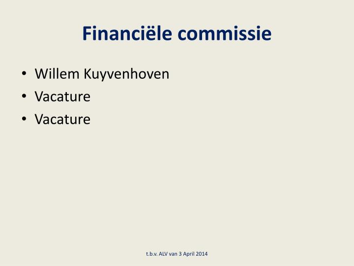Financiële commissie