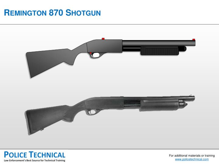 Remington 870 Shotgun