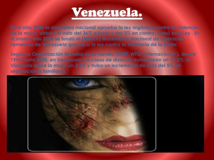 Venezuela.