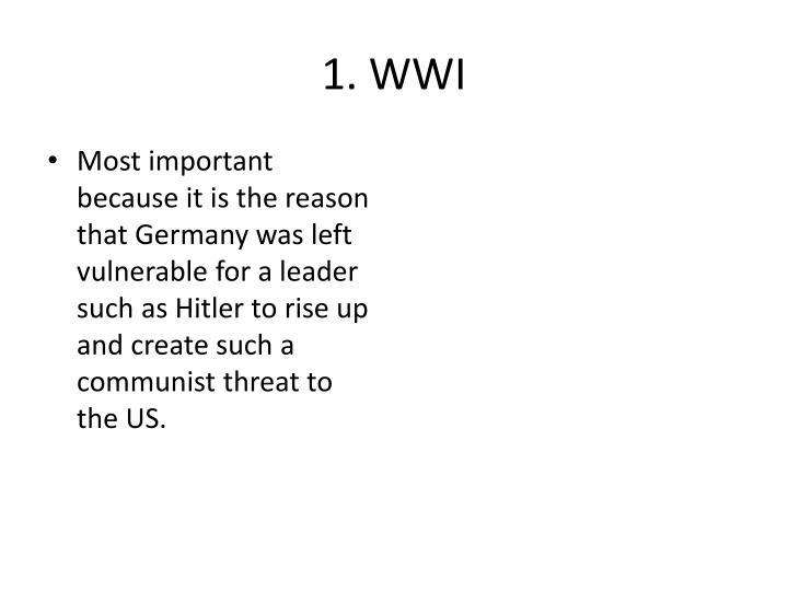 1. WWI