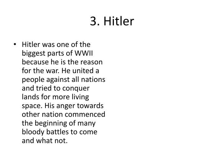 3. Hitler