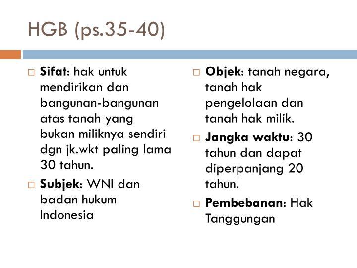 HGB (ps.35-40)