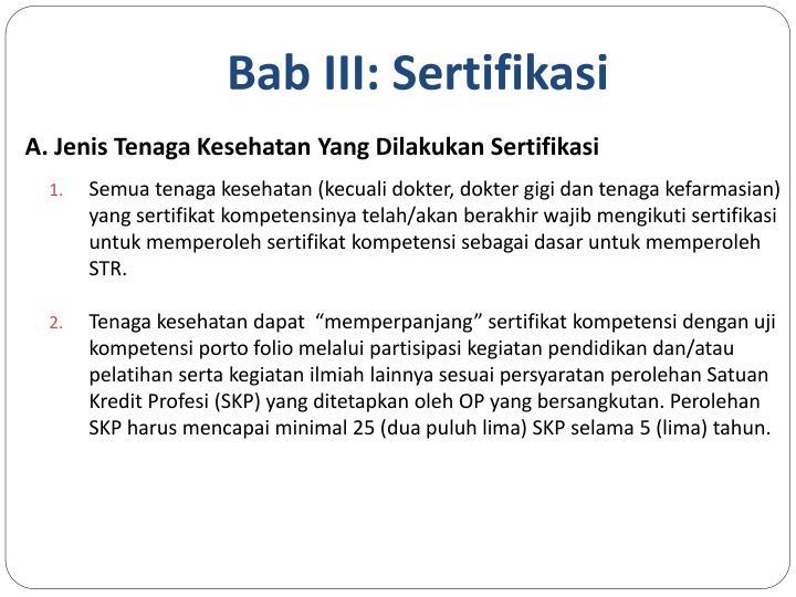 Bab III: