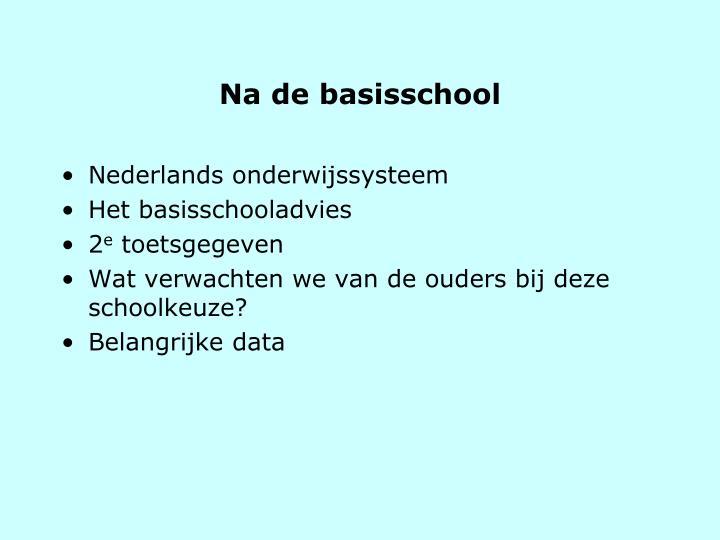 Nederlands onderwijssysteem