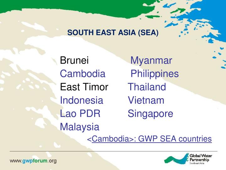 South east asia sea