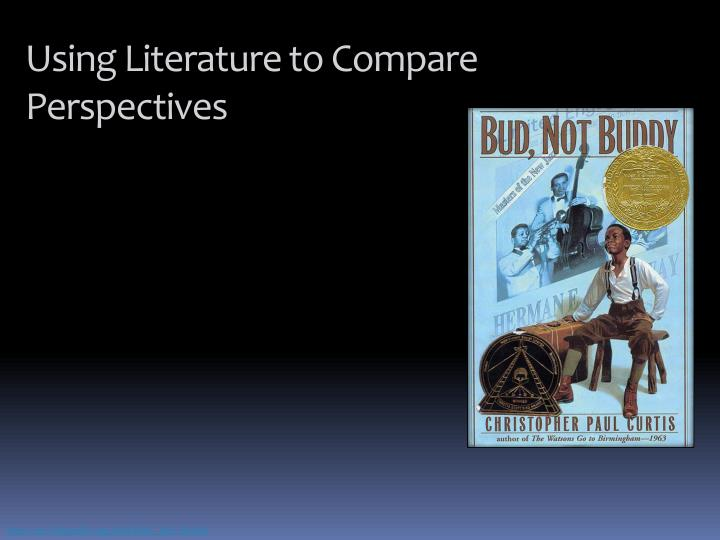Using Literature to Compare Perspectives